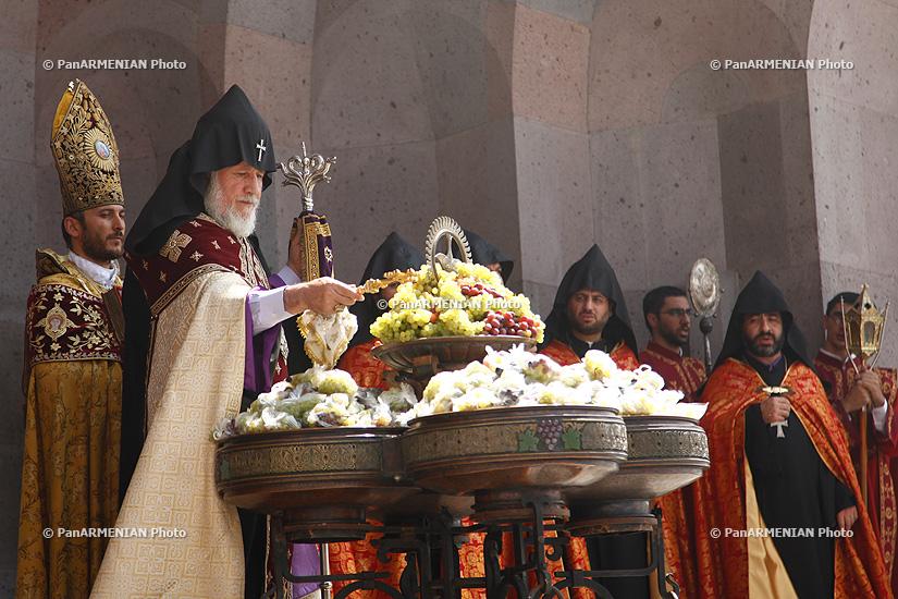 праздник освящения винограда